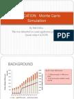 MBA REGIS Quanti MiniApplication of Monte Carlo