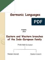 4. Germanic Languages