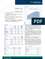 Derivatives Report, 22 April 2013
