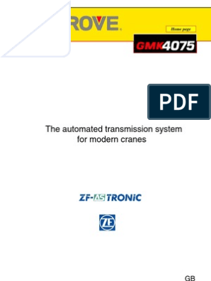 ZF as Tronic Description | Automatic Transmission | Manual Transmission