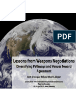 What can weapons negotiations teach us about climate change?