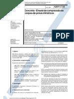 NBR 05739 - 1994 - Concreto - Ensaio de Compressao de Corpos-De-prova Cilindricos