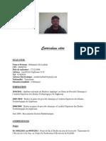 Curriculum Vitae de Mohamed Ali Laabidi