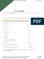 44342186 Keyboard Shortcuts Microsoft Outlook