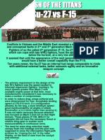 F-15 vs Su-27