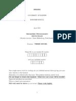 Micro Exam