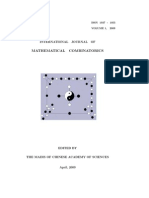 International Journal of Mathematical Ccombinatorics, Vol. 1, 2009