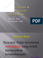 chapter 3- Pemeliharaan & Pemuliharaan Alam Sekitar-natural Disaster & Pollution