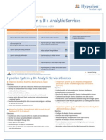 Analytic Services 9