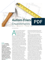 Christopher Beaver the Autism File. Autism Friendly Environments 20101