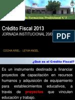 Credito Fiscal 2013