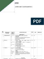 Planificare Clasa Pregatitoare 2