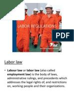 Labor Regulations