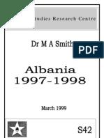 ALBANIA 1997-1998