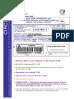 Recetario Receta Requisitos Grupo I SSA Secretaria de Salud Mexico Octubre 2005