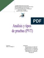 Yacimiento I (Pruebas PVT)