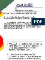 AVALIAÇÃO curso app