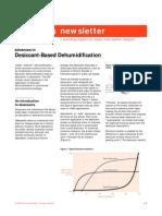 Advances in Dessiccant-Based Dehumidification