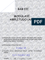 BAB III modulasi amplitudo