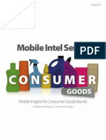 Millennial Media's Mobile Intel Series Vol 5 - Consumer Goods