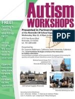 Austism Workshop - 5/22