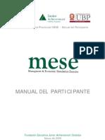 Manual Mese