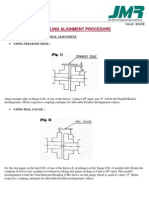 Coupling Alignment Procedure