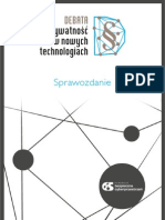 SprawozdanieDebataWNowychTechnologiach