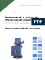 Manual de Motores Eléctricos WEG de Alta y Baja Tensión