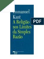 Immanuel-Kant-Religion-A religião dentro dos limites da razão