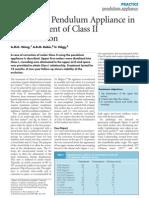 Pendulum No Tratamento Da Class II
