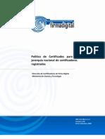 CPSistemaNacionalCertificaciónDigitalversión1