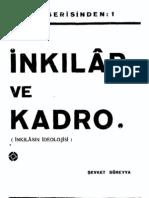 Inkilap Ve Kadro