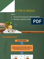 Electron Bebas