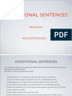 Conditionals Revision Extension