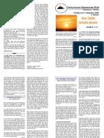 Predigtskript, 2008-12-07, Advent 1, Licht aus der Höhe