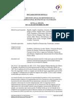 Declaracion Sevilla 20007