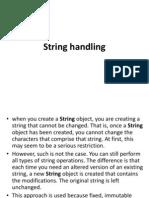 10.String Handling