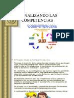 ANALIZANDO LAS COMPETENCIAS
