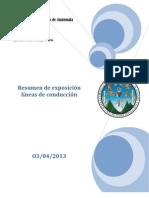 resumen de exposicon lineas de conduccion.pdf