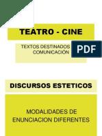 Teatro - Cine