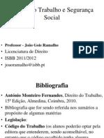 Dto Trabalho e seg social SLIDES (1).ppt