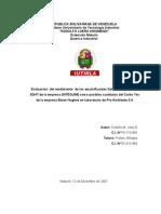 TESIS DE  QUÍMICA CAPITULO I, II, III, IV, V  CARBO TEC
