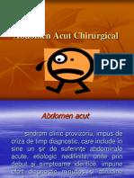 Abdomen Acut Chirurgical