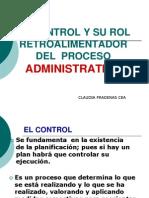 El Control y Su Rol Retroalimentador Del Proceso