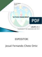 EXPOSICION ACTIVOS FINANCIEROS