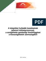 2010-03_A települési hulladék kezelésének költségviszonyai