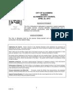 City Council April 22 Agenda