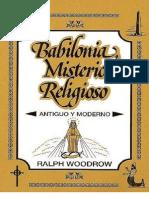 Babilonia Misterio Religioso Antiguo y Moderno