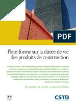 12015 Plate-Forme Duree Vie Produits Construction